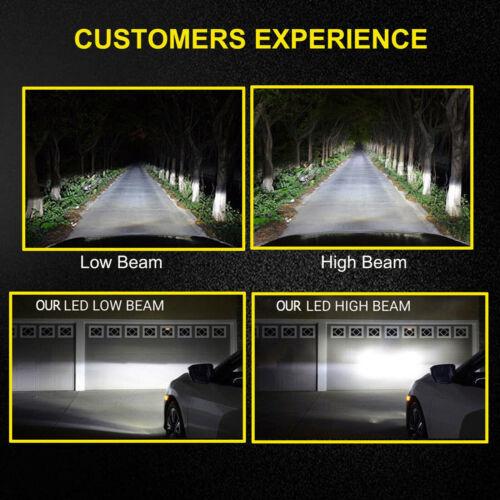 2x Bulbs H7 LED Headlight Low Beam 80W 6000K White Lancia Delta III 2008-2014
