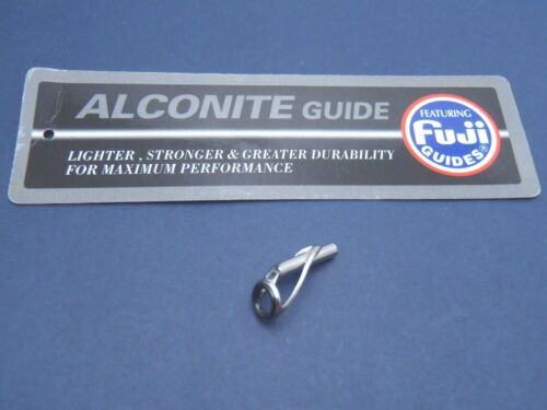 1pc Fuji Alconite Ring Tip Top Light Lure Fishing Rod Guide FAT Choose Size