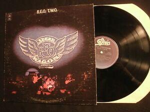 REO-Speedwagon-R-E-O-T-W-O-1972-Epic-Vinyl-12-039-039-Lp-VG-Prog-Rock-AOR