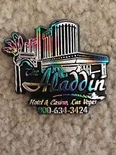 "Vintage/Collectible/Rare Refrigerator Magnet ""Aladdin""Hotel Casino""Vegas"