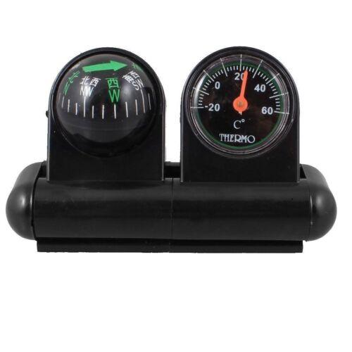 Noir Outdoor voiture Compas De Tableau De Bord Dash Mount marine bateau camion Escalade AC49