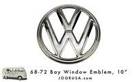 68-72 10 Bay Window Vw Emblem - Stainless Steel