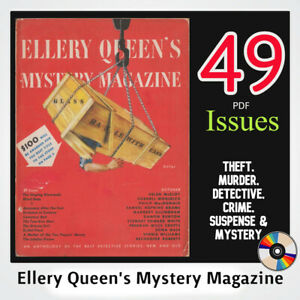 E-Q-M-M-Mystery-Magazine-collection-1940-60-039-s-detective-Murder-crime