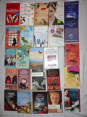 25 Frauen Taschenbücher, P A 8 , Guter Zustand Usw. Bei Sofortkauf Kiste Voll,