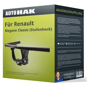 Starre Anhängerkupplung für RENAULT Megane Classic 03-09 II Typ LM Auto Hak NEU