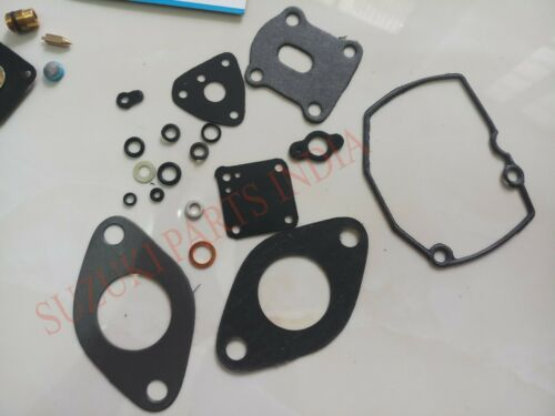 Details about  /SUZUKI CARBURETTOR CARBURETOR REPAIR KIT SIERRA DROVER GYPSY SJ410 1.0 LTR F10A