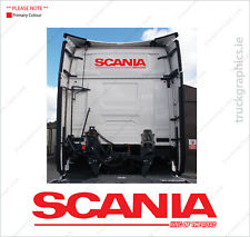 Scania New Generation front window Griffin decal 40 S Series. Scania Next Gen