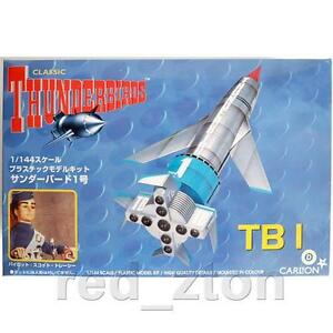 IMAI International Rescue Thunderbirds TB-1 1/144 Plastic Model Kit Carlton