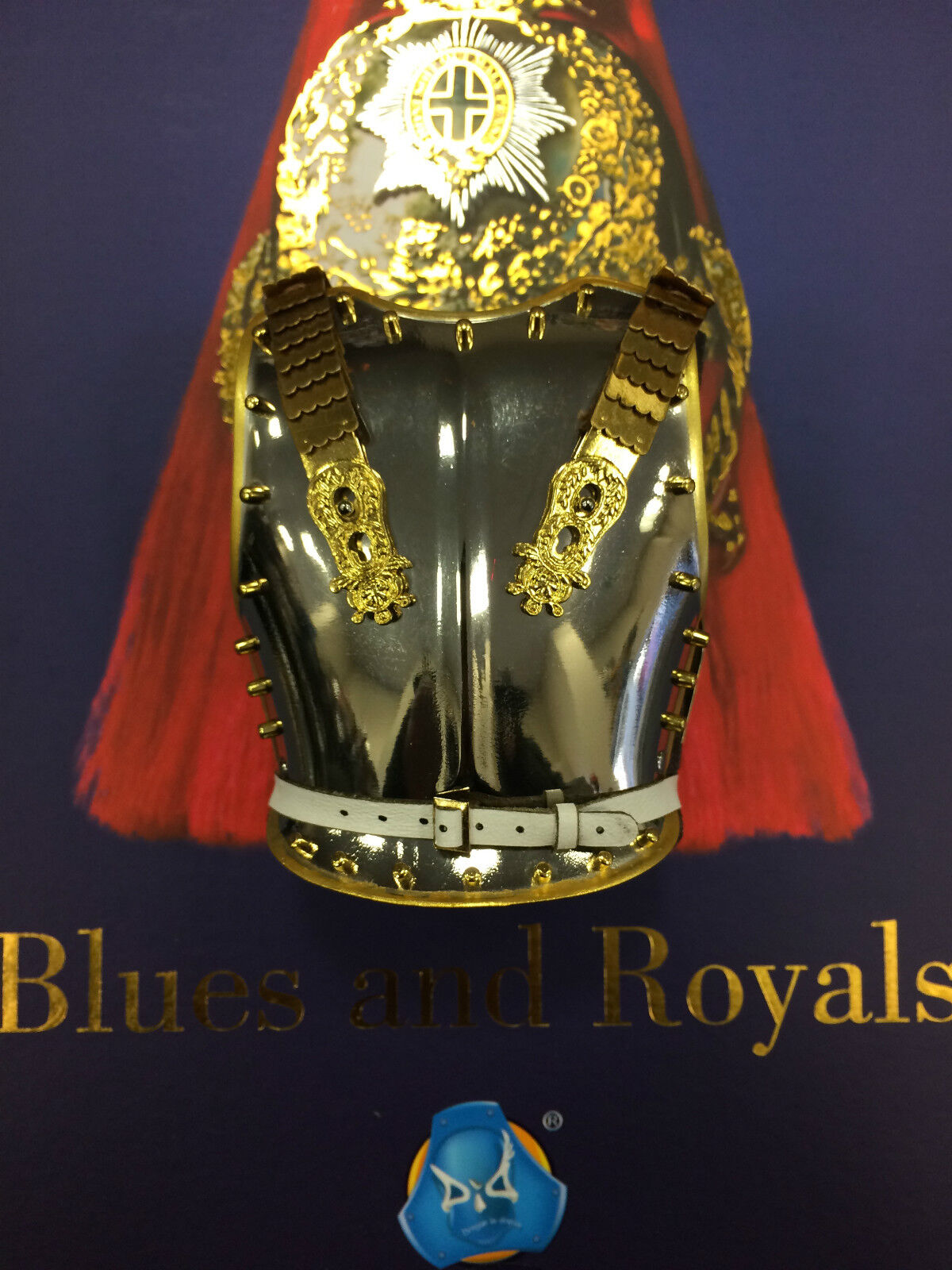 Dragon in Dreams DID The bluees & Royals Metal Breast Plate Set Loose 1 6th scale