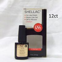Cnd Shellac Gel Polish Top Coat .5oz/15ml 12ct Large Sale