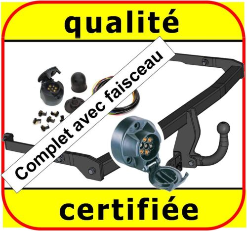 neuf ATTELAGE Renault Grand Scenic II dès 2004 faisceau 7 broches complet