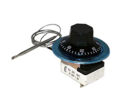 1Pcs 250V 16A Mechanical Temperature Controller 50-300℃ NC+NO uk2015