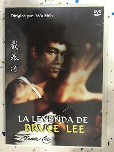 La Legenda De Bruce Lee DVD Wu Shih Documentario Asilo Cinema Inedito Movi Am