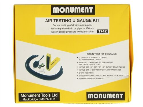 Monument MON174 174Z Air Test U Gauge Kit