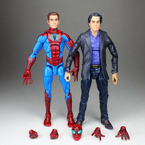 "Marvel Legends Bruce Banner Hulk Avenger Age of Ultron Spiderman Peter 6/"" Figure"