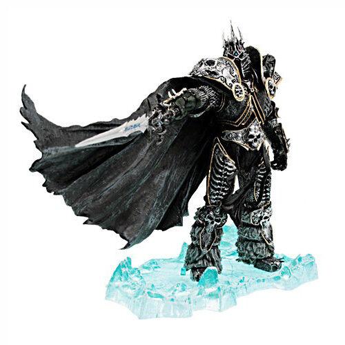 World of warcraft - deluxe - sammler figur  der lichkönig arthas menethil.