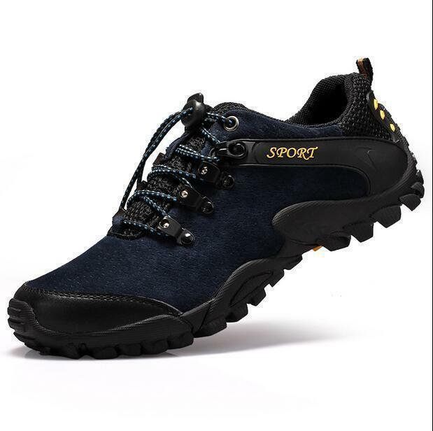 Mens Sneaker Athletic Casual Outdoor Sport Hiking Lace Up Trainer shoes S Ths01