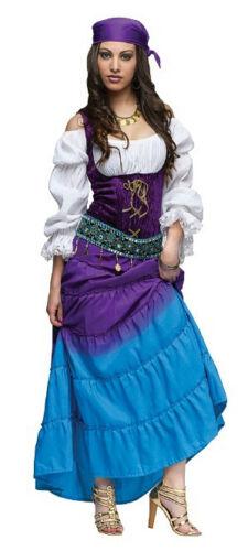 Gypsy Moon Adult Costume Size Medium 8-10