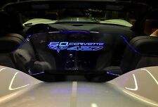 Windrestrictor® brand wind deflector for Corvette C6 60th anniversary edition