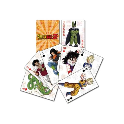Dragon Ball Z Playing Cards NEW Toys Officially Licensed