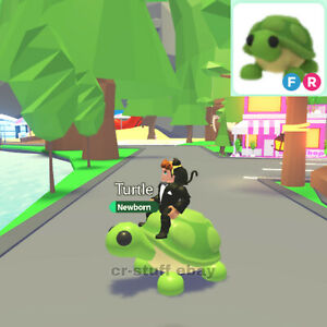 Adopt Me Roblox Turtle Fly And Ride Ebay