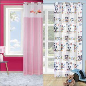 Vorhang Kinderzimmer 140x245 Ösenvorhang Ösen blau rosa Mädchen ...