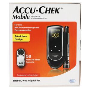 ACCU-CHEK MOBILE misuratore glicemia con 50 test + 6 lancette omaggio