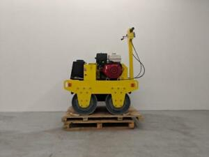HOC DDR60 HONDA WALK BEHIND DOUBLE DRUM ROLLER VIRATION ROLLER COMPACTOR + FREE SHIPPING + 2 YEAR WARRANTY Canada Preview