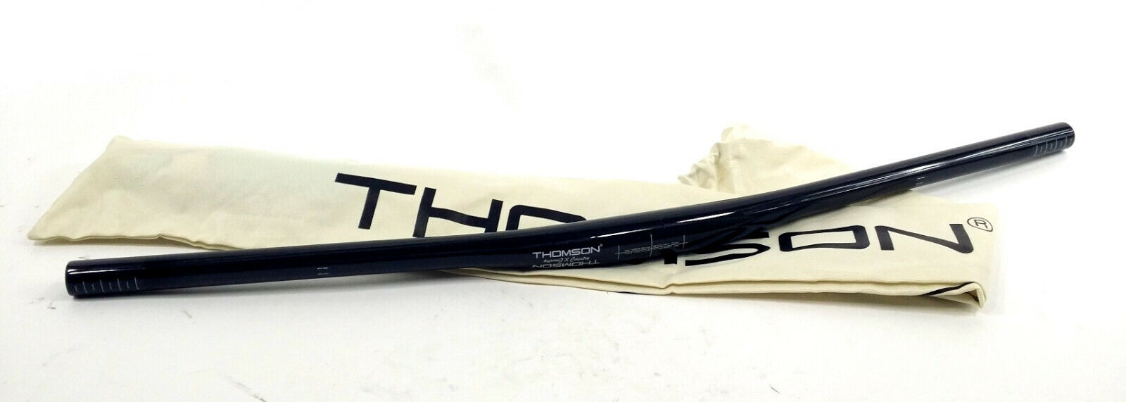 Thomson Bicicleta de montaña de carbono Cross Country Manillar 730mm 8 grados Sweep 31.8