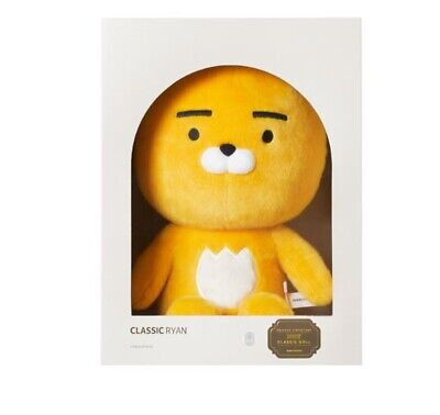 Kakao Friends Ryan Signature Plush Doll 60cm Big Size Large New Official Goods