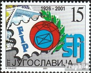 Yugoslavia-3046-mint-never-hinged-mnh-2001-Day-the-Stamp