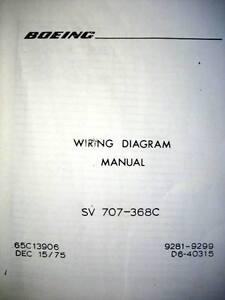 4 boeing 707 368c airframe wiring diagram manuals ebay image is loading 4 boeing 707 368c airframe wiring diagram manuals cheapraybanclubmaster Gallery