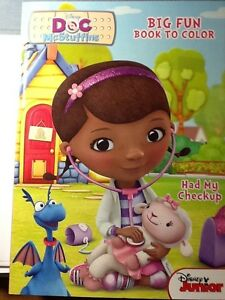image is loading disney jr doc mcstuffins big fun book to - Doc Mcstuffins Coloring Book