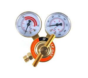 SÜA - Propane Regulator Welding Gas Gauges - CGA-510 - Rear Connector - LDB