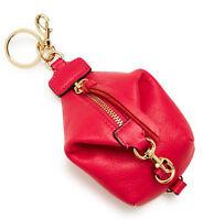 $65 Rebecca Minkoff Julian Backpack Key Leather Bag Charm Coin Purse