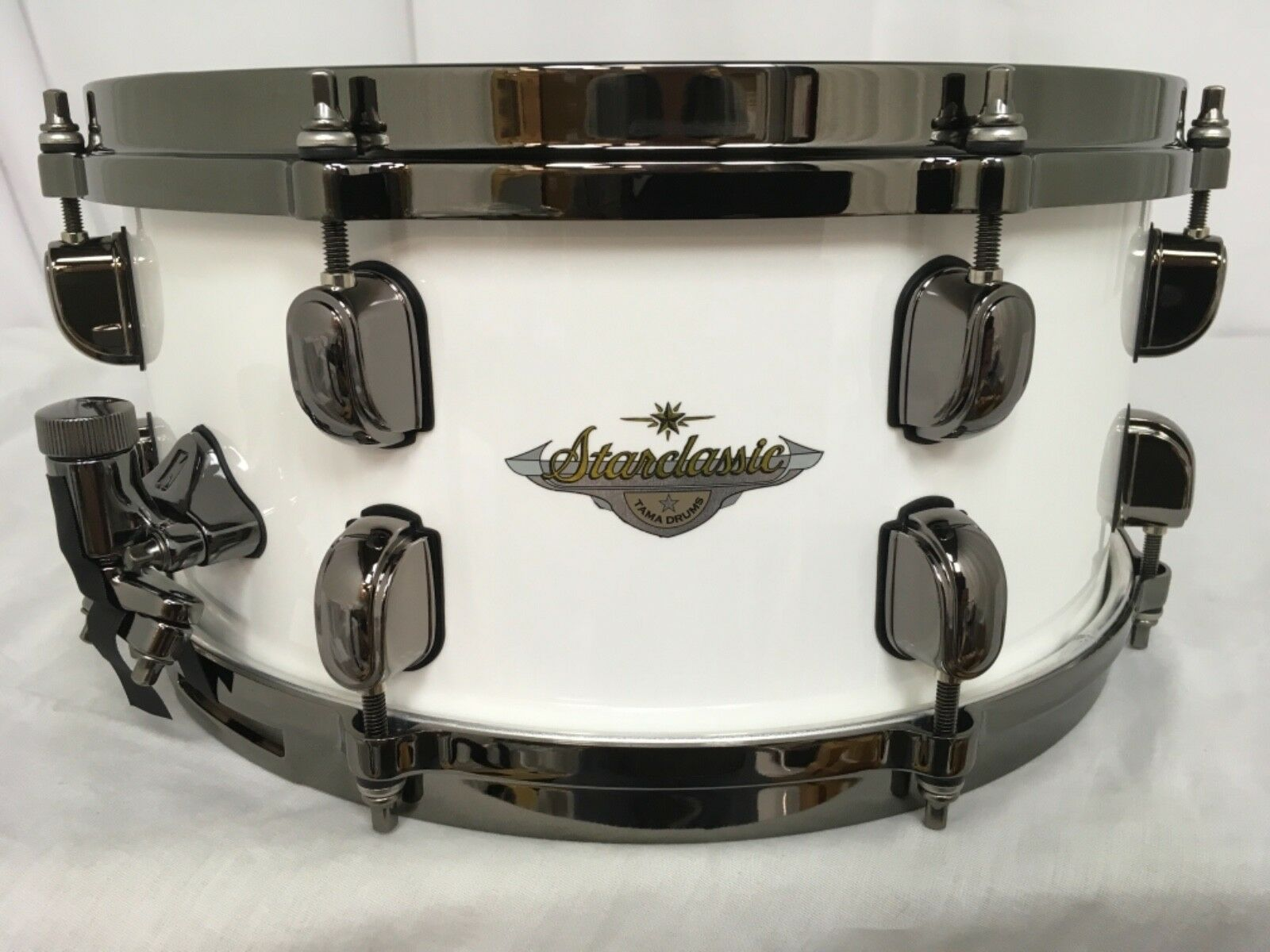 Tama Starclassic Maple 13  Dia. X 6  Deep Snare Drum Piano vit BRAND NEW