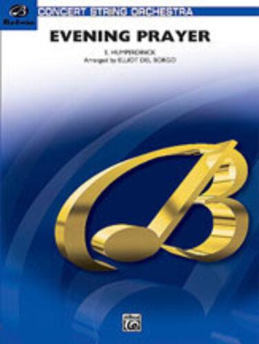 arr Del Borgo string orchestra - BSO00108 ; Hunmperdinck Evening Prayer