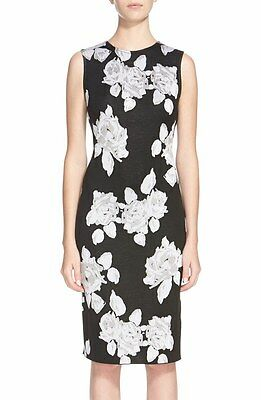 St. John Floral Jacquard Knit New with tag