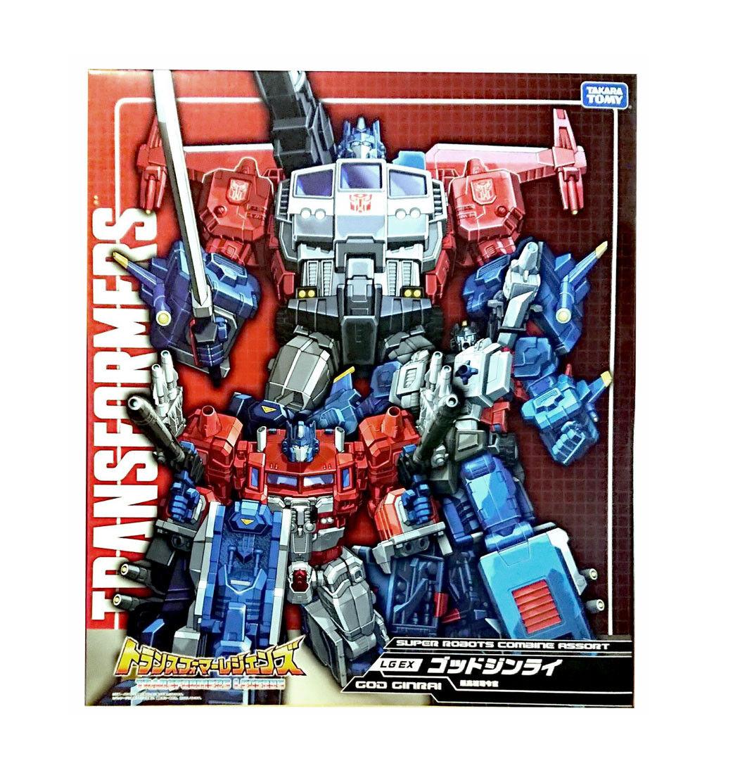 Transformers Takara lgex Dios ginari (Power Master de Optimus Prime) sin usar y en Caja Sellada