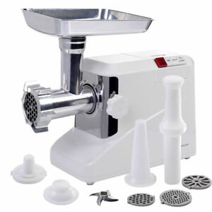 Electric-Industrial-Sausage-Meat-Grinder-2-6HP-2000W-Butcher-Kitchen-Plate-Blade