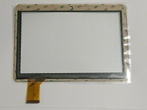 """TouchScreen Glass for Mach Speed Trio Stealth G4x 10.1""""  MST-10X41 White US ship"""