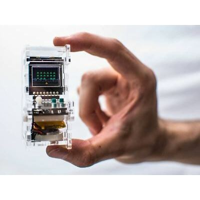 TinyCircuits Tiny Arcade DIY Kit - Classic Video Games in the Palm of Your Hand