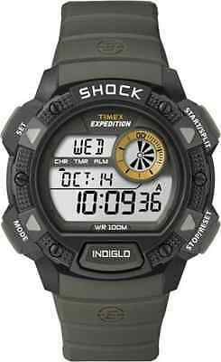 "Timex T49975, Men's ""Expedition"" Digital Indiglo Watch, Alarm, Shock, T499759J"