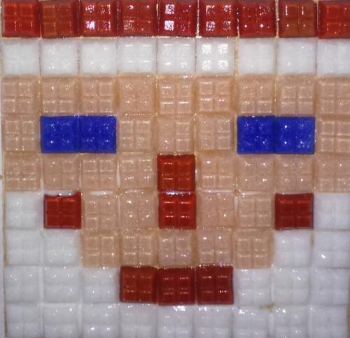 AZULEJOS-no se requiere de corte Kit de mosaico para hacer 2 Santa Posavasos CON CRISTALES