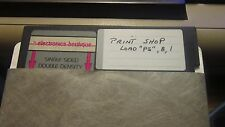 COMMODORE 64 GAME Disk PRINT SHOP PRO FLOPPY DISK