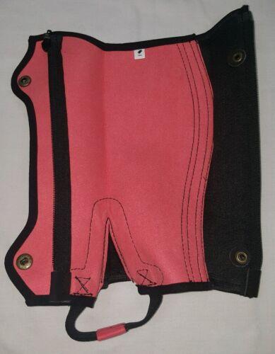 New Horse riding Amara Chaps Pink and Black Size Medium