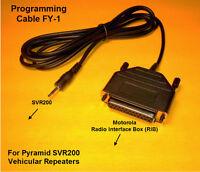 Programming Rib Cable Pyramid Vehicular Repeater Svr200 Svr 200 Svr-200 Fy1 Fy-1