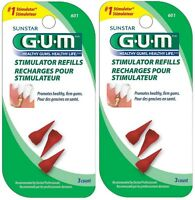 Butler Gum Stimulator Refills - 3 Count (pack Of 2) on sale