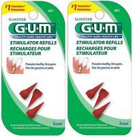 Butler Gum Stimulator Refills - 3 Count (pack Of 2) on sale