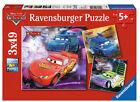 Ravensburger Puzzle 3 mal 49 teile auf der Rennstrecke